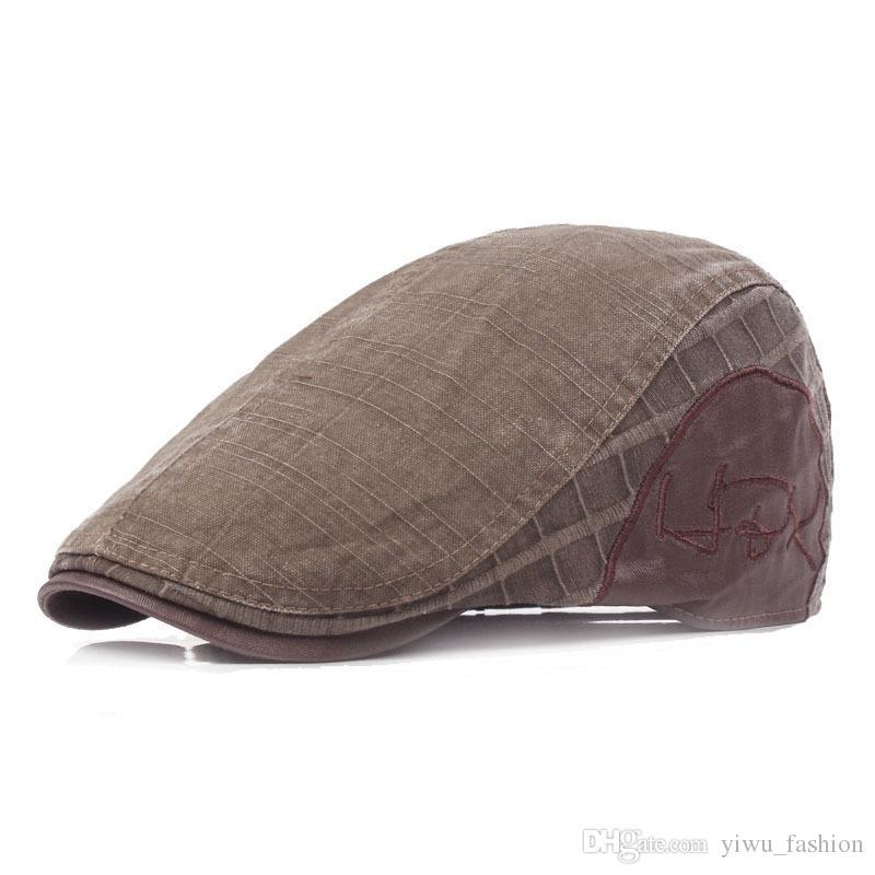Compre Lavado Para Hacer Gorros Viejos Gorra Masculina Gorra Al Por Mayor  De Algodón Vintage Sombrero Delantero Sombreros De Las Mujeres A  2.9 Del  ... 454143280b19