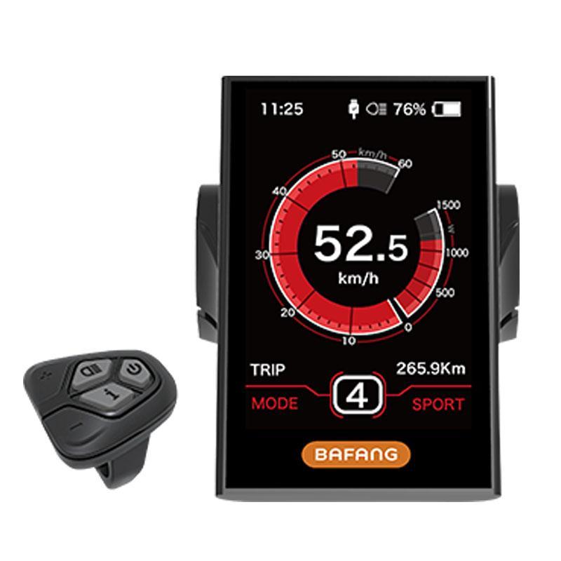 Bafang DPC18 Display with Controller / Switch / USB Port For Electric Bike  Mid Motor BBS01B BBS02B BBSHD 8fun Speedometer