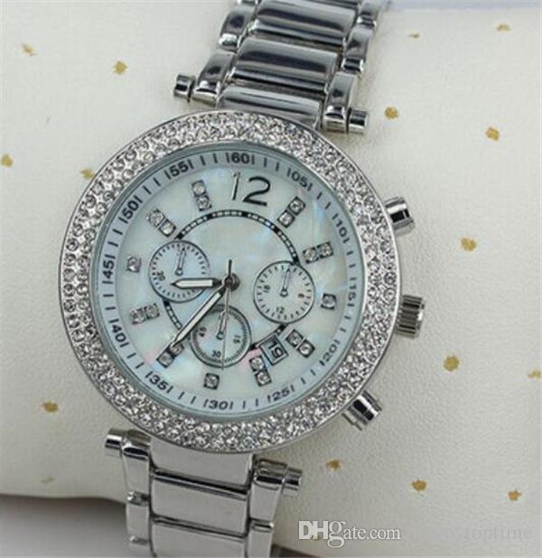 9dc220a5c Compre Relojes De Moda De Lujo Para Mujer Relojes Casuales Reloj Deportivo  De Cuarzo Reloj De Pulsera De Acero De Alta Calidad Para Mujer Reloj  Femenino ...