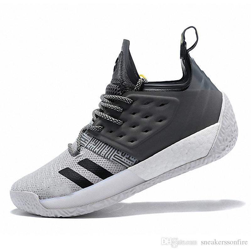 5f04680c1f9 Hot 2019 Arrival James Harden Vol.2 Mens Basketball Shoes Concrete Grey  Sports Training Boost Size US7-11.5 Harden Vol.2 Basketball Shoes Online  with ...