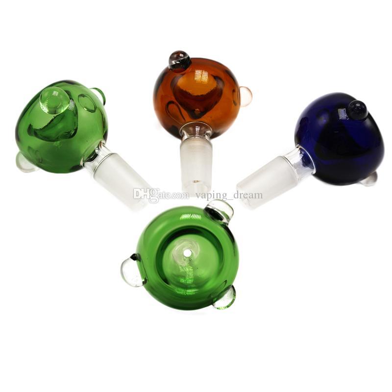 i ciotole di vetro 14 millimetri Joint 14mm tubi interni in vetro Downstem Bowl Perc l'olio di vetro antiriflesso tubi dell'acqua Percolator Bong