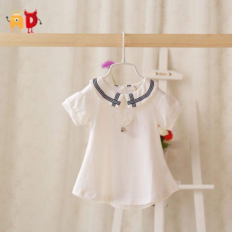 9f9bde2949813 good quality 2015 New Summer Baby Girl Dress Stylish Cotton Baby Dress  Toddler Clothing White Girl Dress roupas infantil menina vestidos