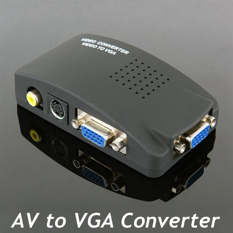 Groovy High Resolution Digital Av S Video To Vga Tv Signal Converter Wiring Cloud Philuggs Outletorg