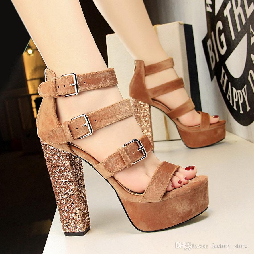 Sandalias Jane Altos Diseñadores Tacones Gruesos Bombas De Mujeres Mary Sexy Zapatos Plataforma Mujer Lujo Tl3cFK1J