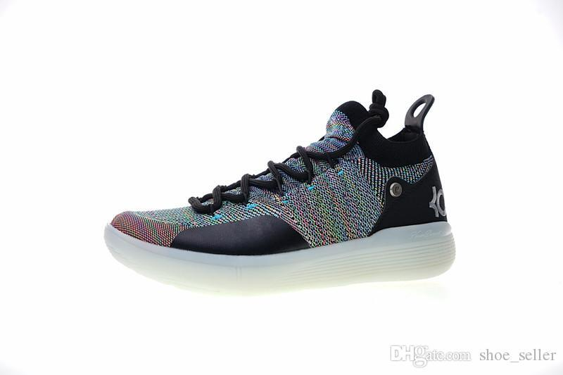 6ae5f9d1208a25 New KD 11 EP White Orange Foam Pink Paranoid Oreo ICE Basketball Shoes  Original Kevin Durant XI KD11 Mens Trainers Sneakers Size40 46 Shoes Brands  ...