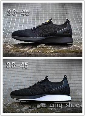 NIKE Air Flyknit Racer Be True 2 2018 classique Zoom Mariah Fly Racering 2 Mairhs Flykit 3 Zoom Lunar Pegasus Hommes Chaussures de sport Casual Racers Formateurs Taille 40-45