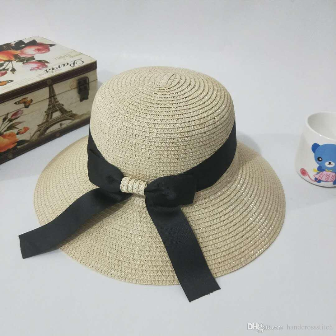 f2fdca05011 Straw Hat Women Spring And Summer Sun Protection Go Out Travel Beach ...