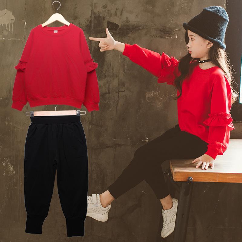 82de9b723e70c Acheter Vêtements Pour Enfants Tenue De Noël Bébés Filles Vêtements Enfants  Vêtements Pull À Manches Longues + Pantalon Survêtement Costume Pour Filles  De ...