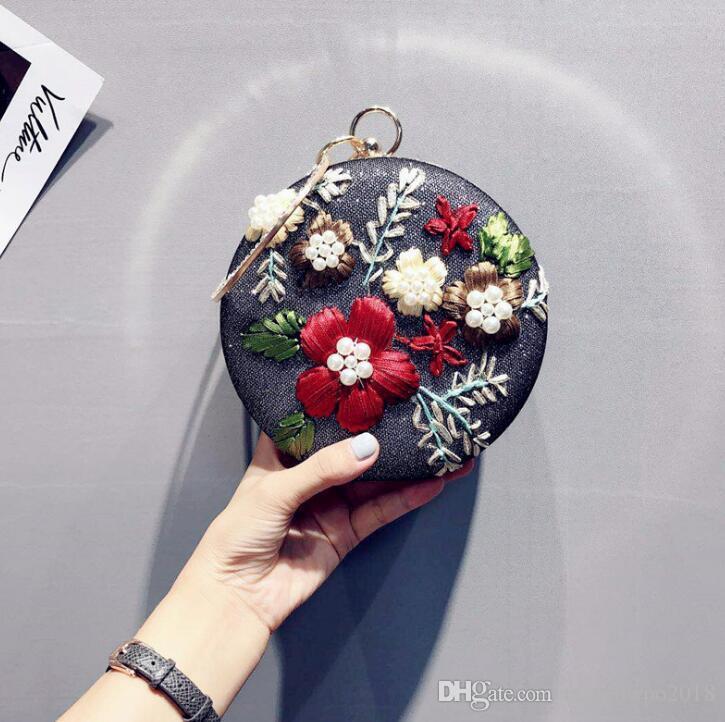 Wholesale Brand Women Handbag Original Design Handmade Embroidery