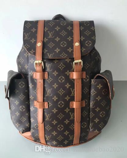 91c4db1e548 AJLOUIS VUITTON Old Flower Christopher Backpack MICHAEL 25 KOR Shoulder Bag  Clutch Handbag Luggage Package Backpack LOUIS M0LV GUCCI Purse Storage  Silver ...