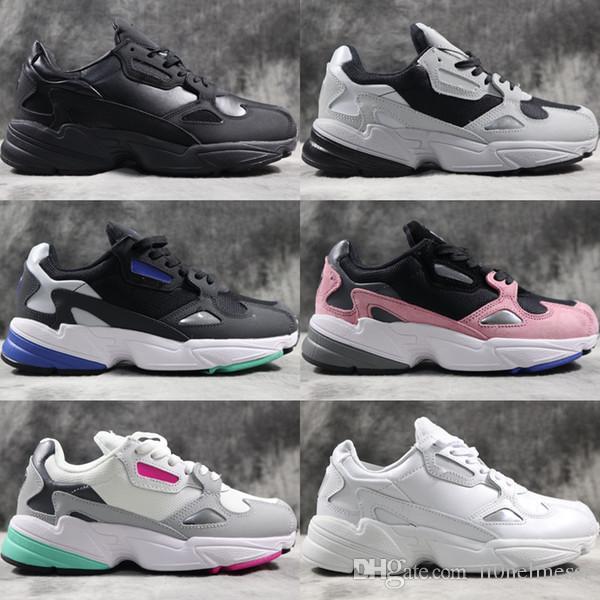 4049b00ca8d Compre Adidas Falcon W Originals 2018 New Mens Designer Running Shoes Para  Hombre Zapatillas De Deporte Casuales Mujeres Zapatillas Deportivas De  Marca De ...