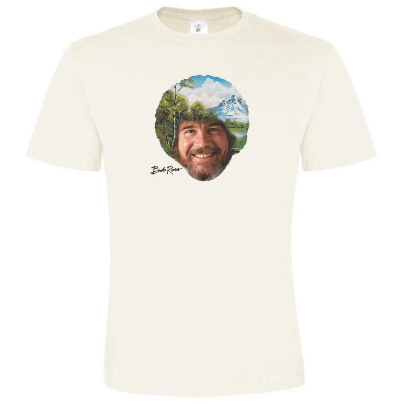 d9aa3946c Bob Ross, Artist, The Joy Of Painting, PSB, U.S. Cult Tv, Netflix, Happy  Trees Men Women Unisex Fashion Tshirt Black Online T Shirt Printing On T  Shirts ...