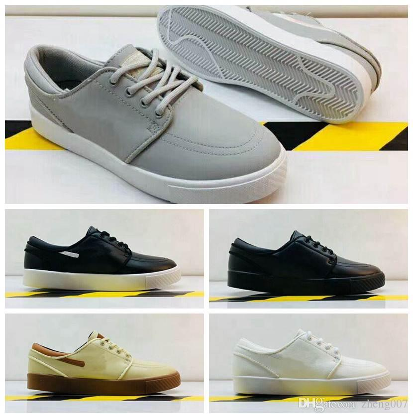 eed3ad8d3080 Clearance 12 Pure Colors Sb Stefan Janoski Casual Shoes Men And Women  Fashion Konston Lightweight Skateboard Athletic Sneakers Size 36 45 Mens  Dress Shoes ...
