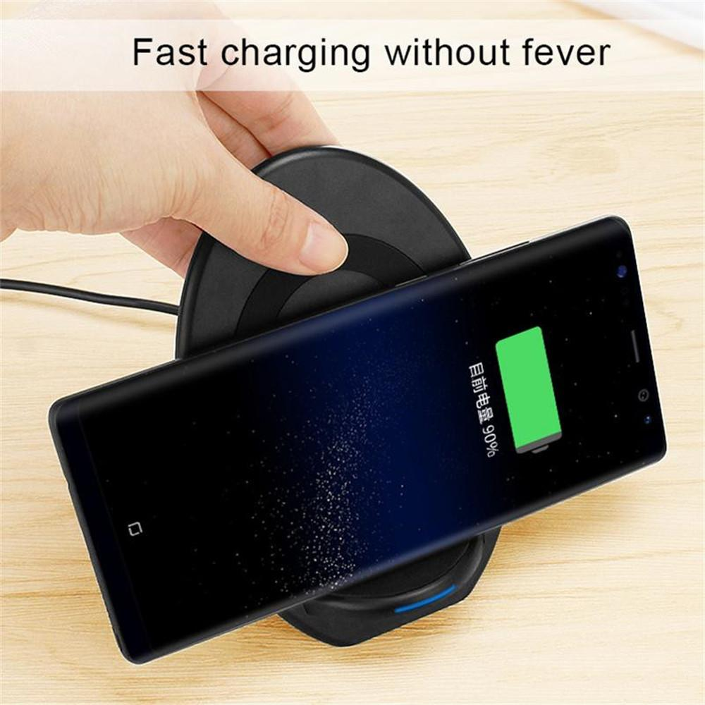 finest selection 05919 427cc New Wireless Charger Dock Station Qi Wireless Charging Stand for iPhone Xs  MAX/XR/XS/X/8 Galaxy Note 9/S9/Note 8/S8 Qi-Enabled Phones