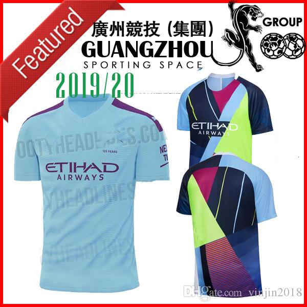 c51d9e00aff 2019 19 20 Manchester FIFA19 City Digital 4th Kit Limited Edition Jerseys  Soccer 2019 KUN AGUERO Special Version JERSEY FOOTBALL BLUE SHIRT From  Vinjin2018, ...