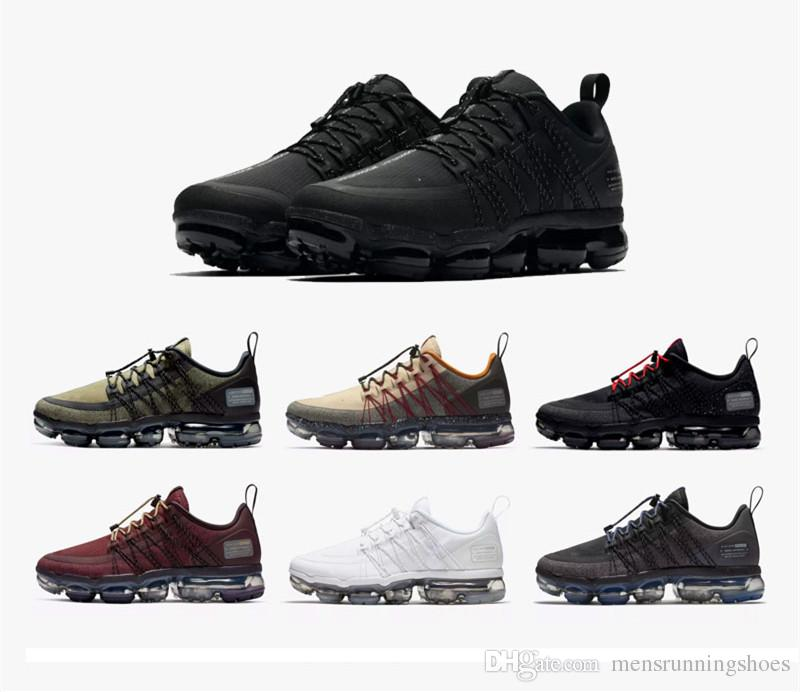 f57f60749db39d 2019 2019 New Run UTILITY Running Shoes For Men Triple White Black  REFLECTIVE Medium Olive Burgundy Crush Designer Mens Trainers Sports  Sneakers From ...