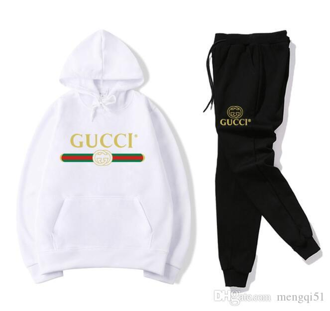 6f5d62135ae Fashion Designer Women Tracksuit Spring Autumn Casual Unisex Brand  Sportswear Track Suits High Quality Hoodies Sweatshirts Mens Clothing Online  with ...