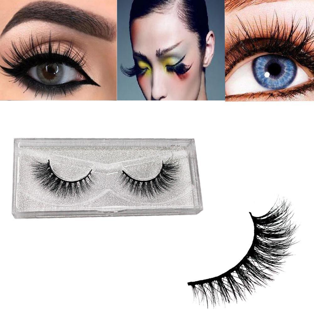 379e98acd30 Mink Eyelashes 3D Natural Thick HandMade Full False Fake Eyelashes Eye  Lashes Makeup Extension Vivid And Soft Z0311 Eyelash Eyelash Curler From  Huangcen, ...