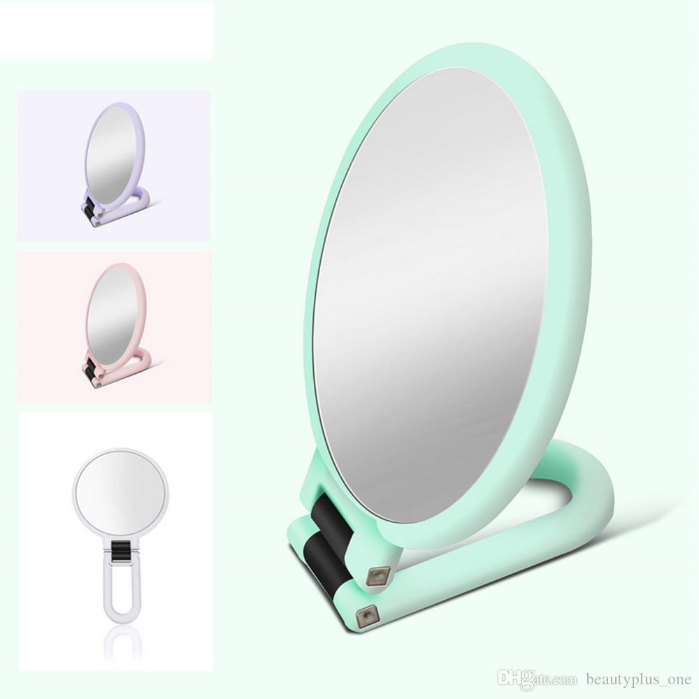 Casa, Arredamento E Bricolage Bagno: Accessori E Tessuti Specchio Per Trucco Da Bagno Specchietto Ingranditore Portatile Colore Panna