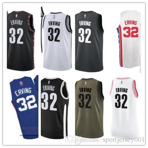 the best attitude fae91 1ff1c custom 2019 Brooklyn Net Jerseys #32 Julius Erving Jerseys  men#WOMEN#YOUTH#Men's Baseball Jersey Majestic basketball jersey