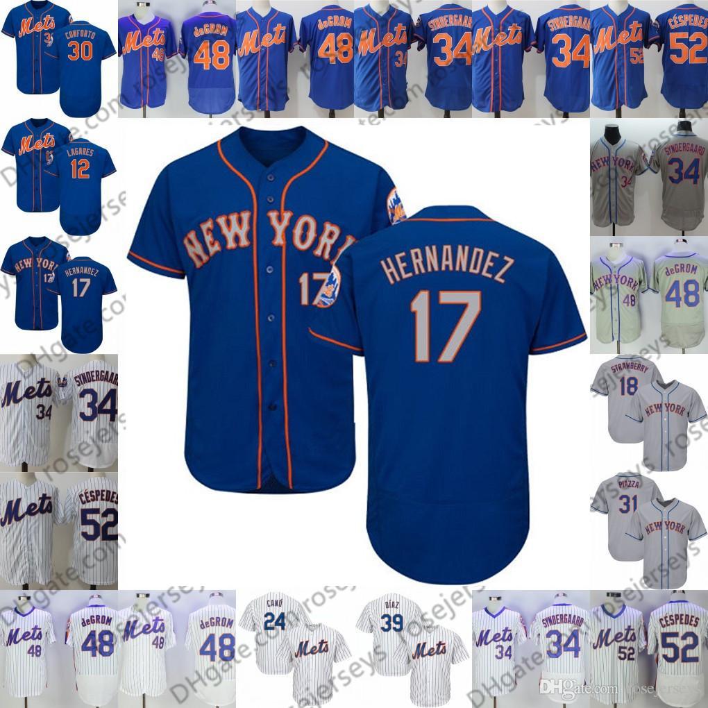 buy online dc2a7 437c7 2019 Mets Jerseys New York #8 Gary Carter 16 Dwight Gooden 17 Keith  Hernandez 18 Darryl Strawberry 5 David Wright 7 Jose Reyes