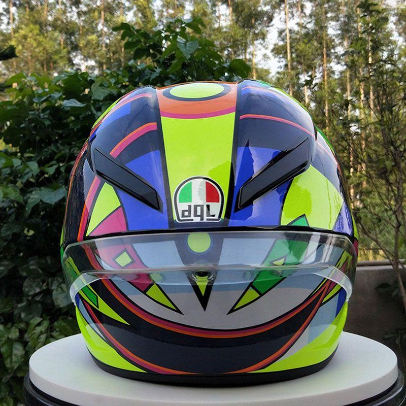 fe0eb4845d953 Compre Nueva Marca Dgl Dot Full Face Casco De Motocicleta Cascos Vintage Moto  Para Hombre Cuesta Abajo Moto Casco A  105.12 Del Tonethiny