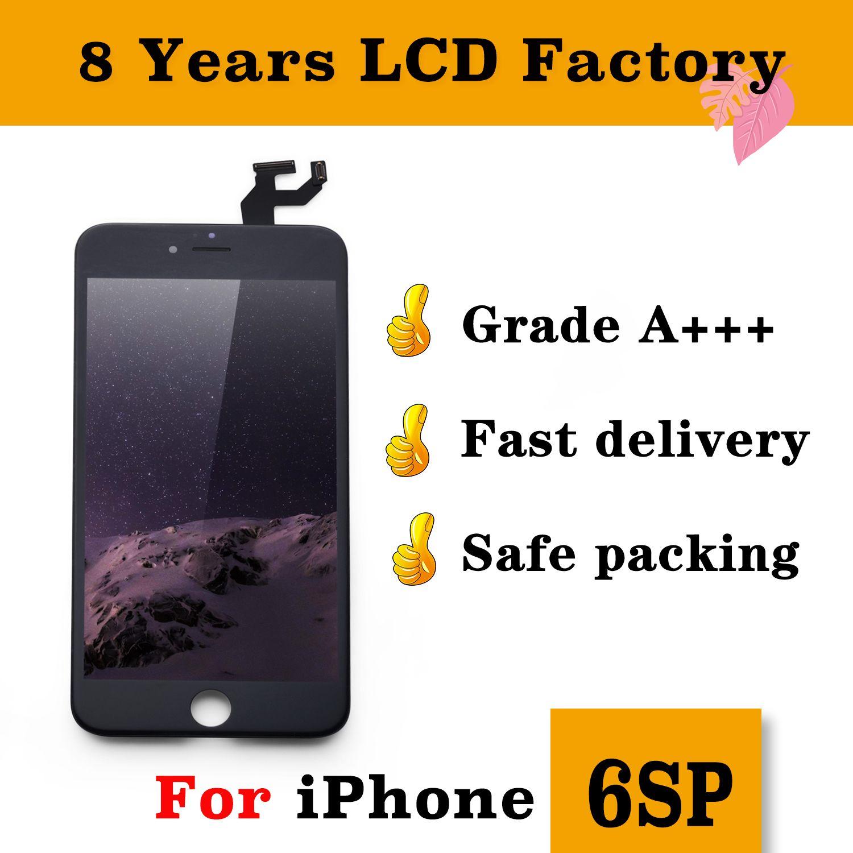 1994f56e8af Comprar Pantallas De Moviles Pantalla LCD Para IPhone 6S Plus Touch Pantalla  Digitalizadora Completa Con Marco Reemplazo De Montaje Completo Para IPhone  DHL ...