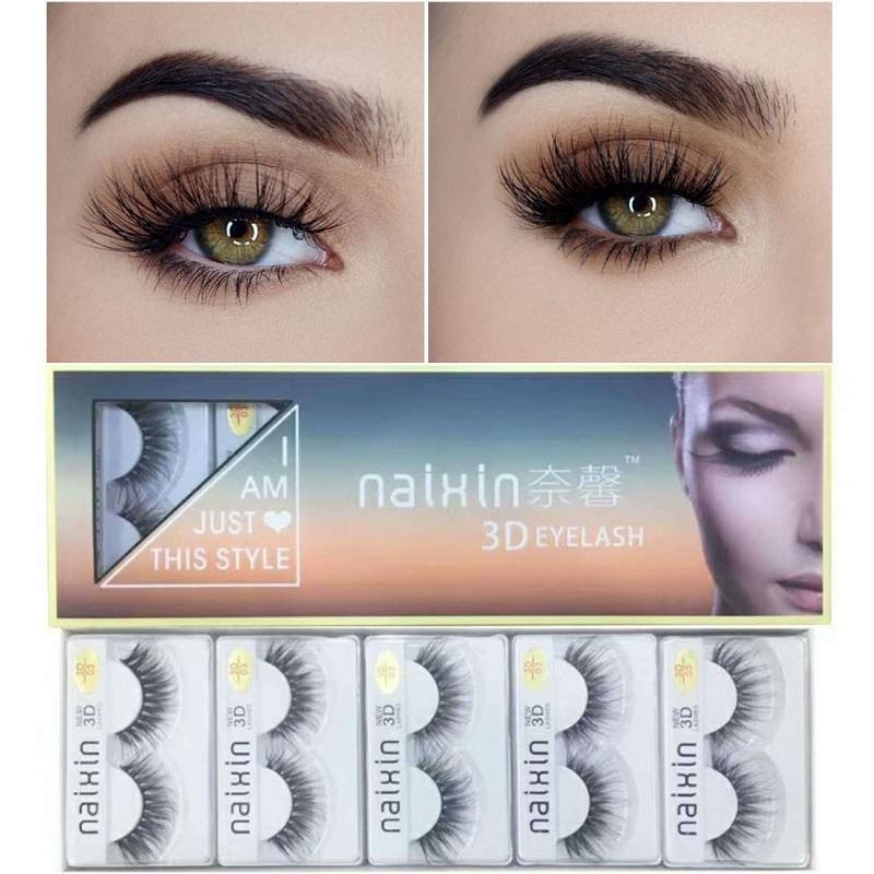 0cf509cd39e 3D Mink Hair Natural Cross False Eyelashes Long Messy Makeup Fake Eye Lashes  Extension Make Up Beauty Tools Eylure Eyelashes How Much Are Eyelash  Extensions ...
