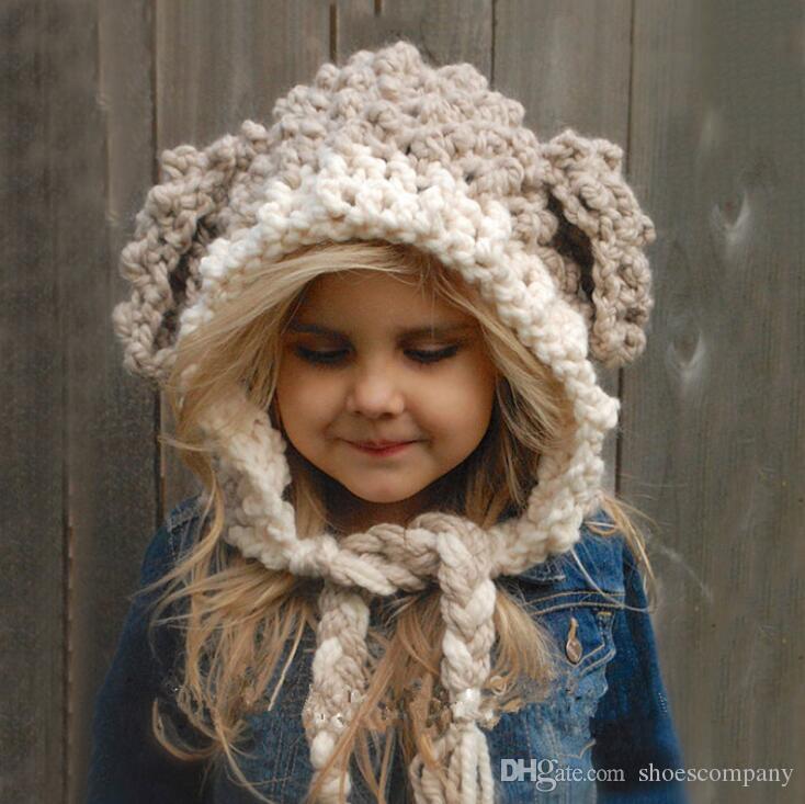 b4100c12a62c Acheter 2019 Chapeaux De Bonnet De Mode Pour Enfants Et Enfants Laine  Grossière Chapeau D hiver Bonnet Designer Cc Bonnets Marque Hommes Femmes  De Luxe ...