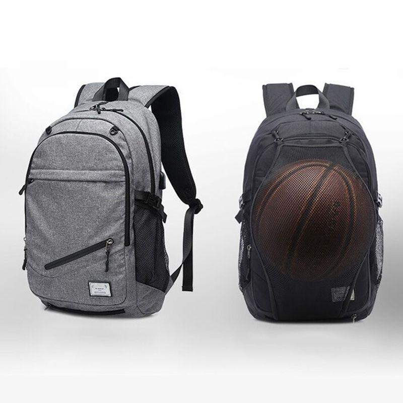 76d50cd020e7 Outdoor Men s Sports Gym Bags Basketball Backpack School Bags For Teenager  Boys Soccer Ball Pack Laptop Bag Football Net Gym Bag #619062
