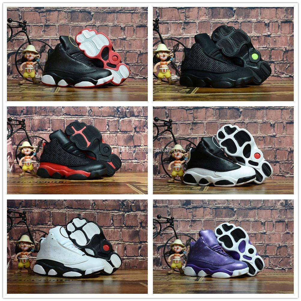 058181bdf74 2019 13 White Red Cap And Gown Gym Red Black Stingray OVO Midnight Navy  Bred Shoes 13s Mens Womens Kids Basketball Sneaker Drop Ship From  Noahboots