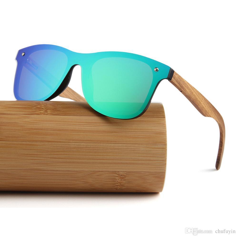 1cf4d9bcb68 2018 New Style Eyewear Oem Fashionable Shine Frameless Wooden Sunglasses  Vintage Sunglasses Super Sunglasses From Chufuyin
