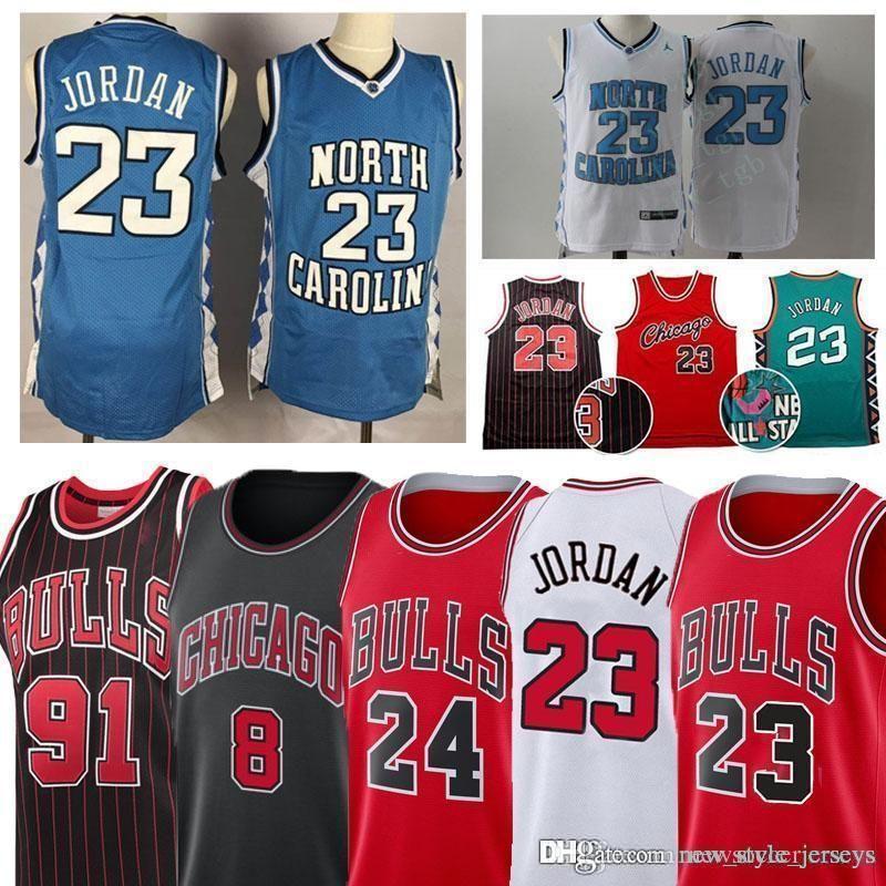 buy popular be0fa cd14e buill 23 Michael Jersey North Carolina Jersey Men Youth Zach 8 LaVine Lauri  24 Markkanen Basketball Jerseys