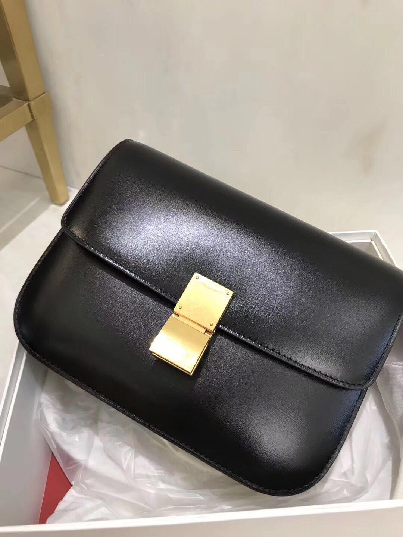 cbbb94427 High End Custom Classic Tofu Bag BOX One Shoulder Oblique Cross Cowhide  Toothpick Leather Square Bag Fashion Stewardess Star Same Model Leather  Handbag ...