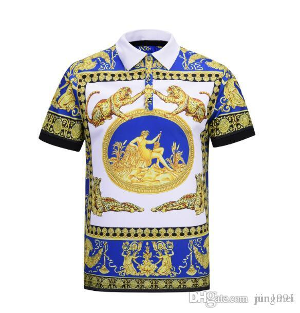 64f0f6ee 2019 Spring Luxury Italy Tee T Shirt Designer Polo Shirts High Street  Embroidery Garter Medusa Printing Clothing Mens Brand Polo Shirt Clever  Funny T Shirts ...