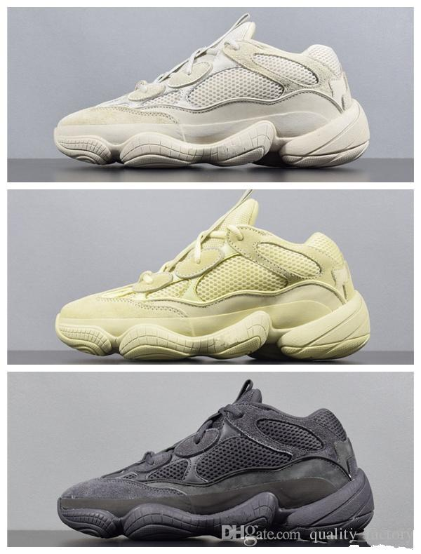 competitive price 12c10 5dc21 500 Blush Desert Rat 500 Super Moon Yellow running shoes 500 Utility Black  sneaker sports shoes with free shipping