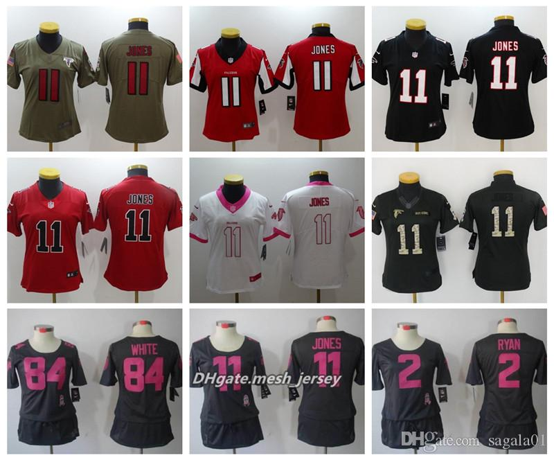 new styles 6a071 5b772 top quality julio jones white falcons jersey 236aa a2dd7