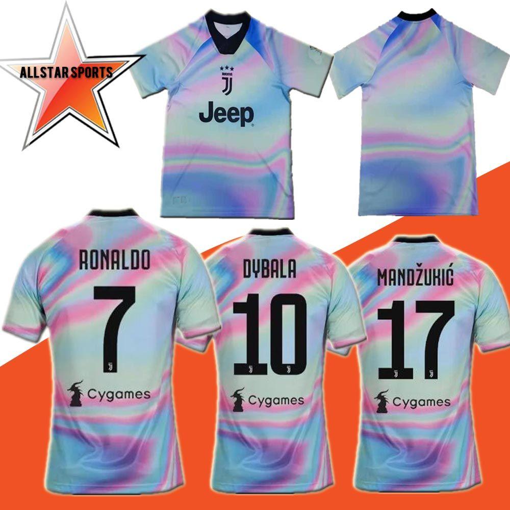 949e870eb 2018 2019 Juventus EA SPORTS Soccer Jersey 18 19 Juven RONALDO ...