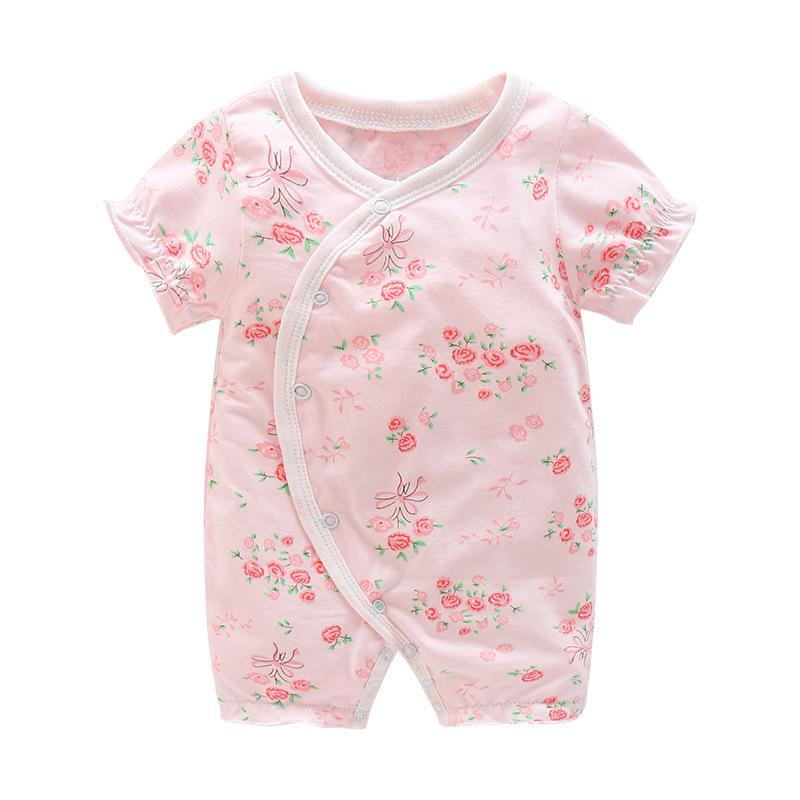5e4335f75c2e 2019 Good Quality Newborn Baby Girls Rompers Fashon Cotton Floral Jumpsuit  Sleepwear For Toddle Kids Clothing Outfits Infant Girl Pajamas From  Cynthia05