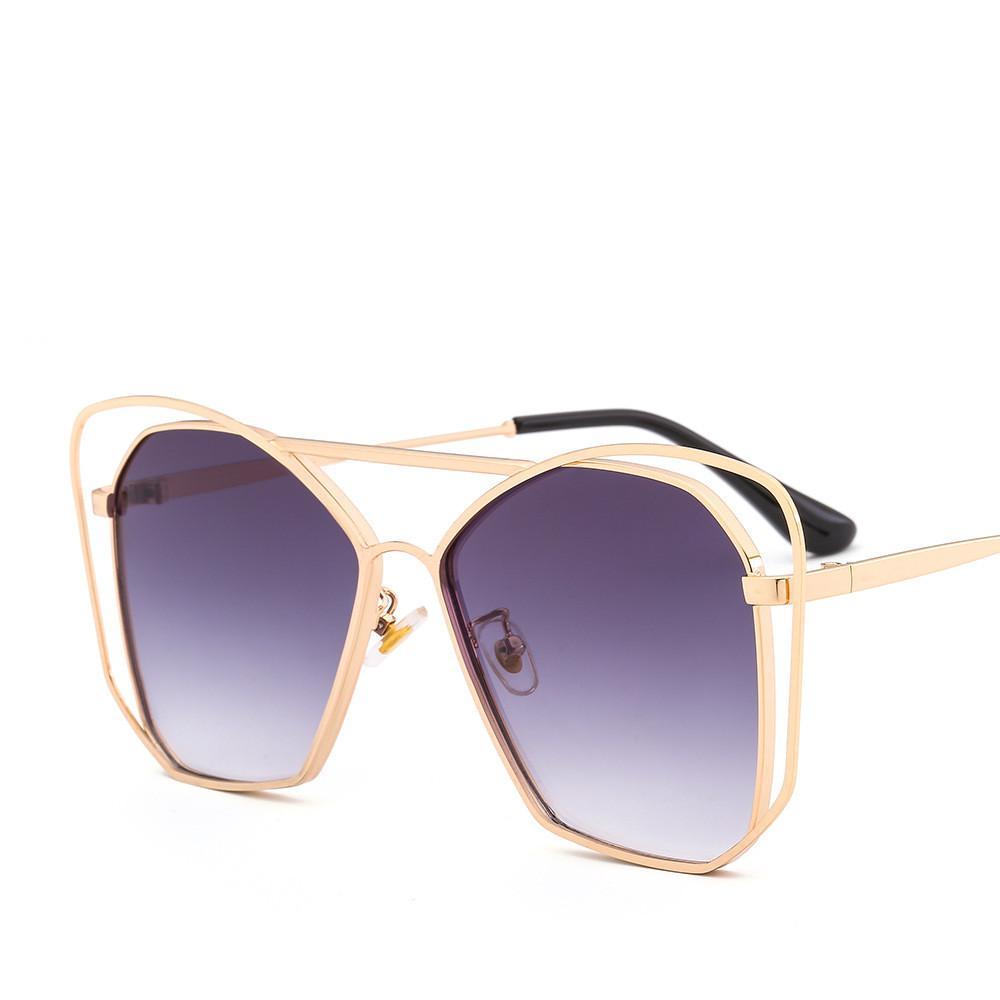 5714c5ea21 2019 Flat Shield Sunglasses Fashion Women Brand Popular Oversized Eyewear  Designer Cat Eye Sunglasses 100% UV Protection Gradient Glasses Sport  Sunglasses ...