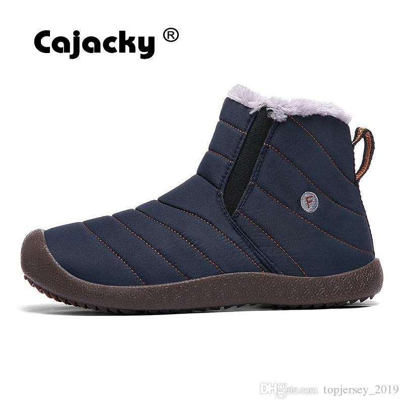 Acquista Cajacky Uomo Escursioni Scarpe Plus Size 47 48 Inverno Caldo  Pelliccia Di Neve Sneakers Unisex Outdoor Botas Hombre Stivaletti Da  Ginnastica ... 5736778d423