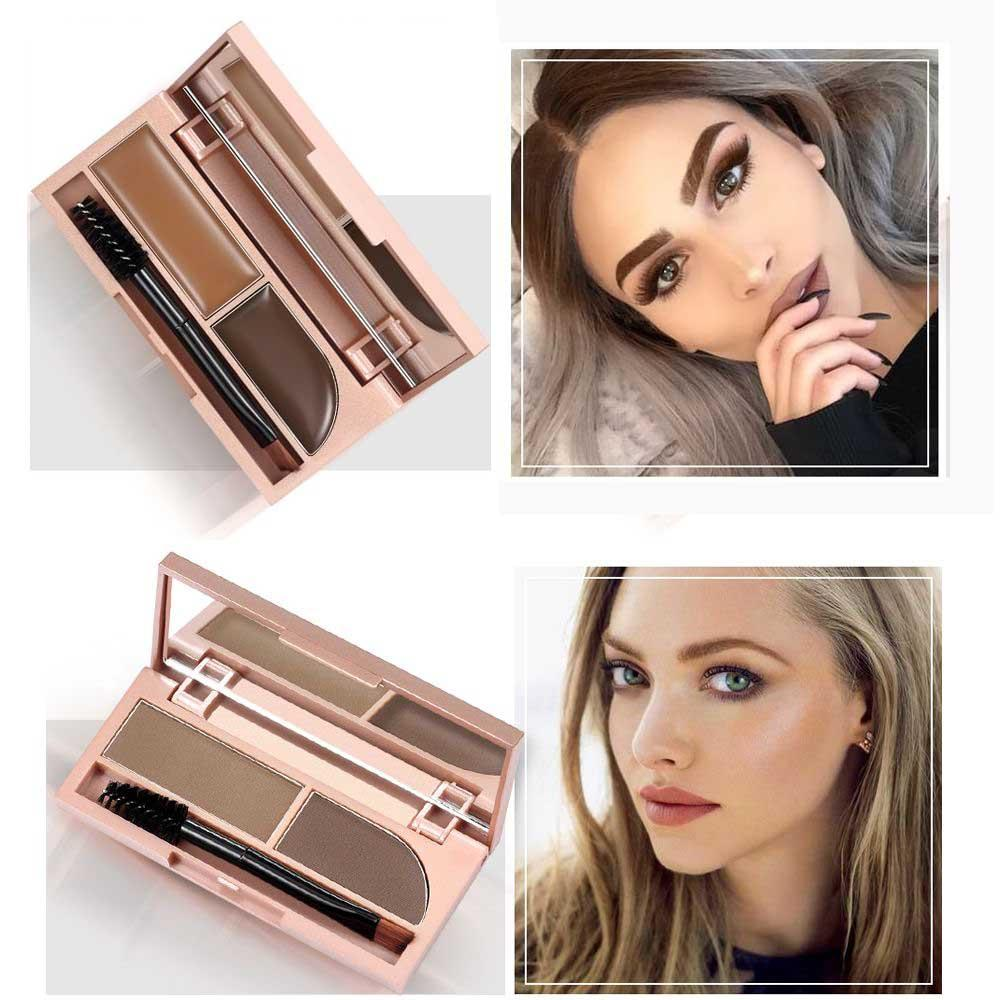Professional Eyebrow Gel Eyebrow Powder High Brow Tint Makeup Brown