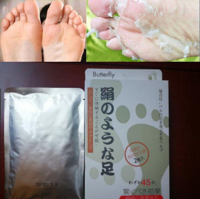 Hautpflege 20 Stücke = 10 Pair Peeling Füße Maske Baby Fuß Maske Peeling Erneuerung Entfernen Abgestorbene Haut Nagelhaut Für Heels Socken Für Pediküre Socken