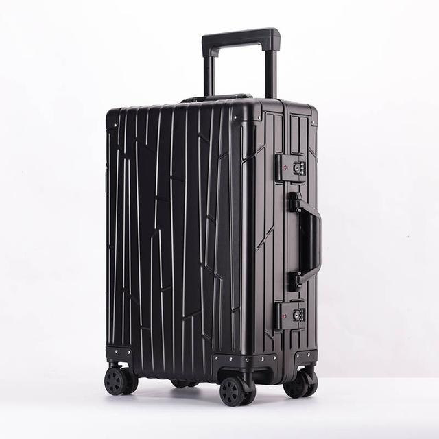 47e94994226 Travel Tale 100% Aluminum Magnesium Alloy Rolling Luggage Spinner Men  Business Suitcase Wheels 20 Inch Cabin Trolley Travel Bag Childs Suitcase  Dakine ...