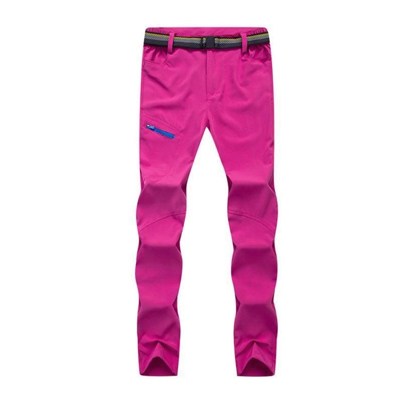 7e6ca4f9d483 Outdoor Quick Dry Pants Spring Thin Women Hiking Mountain Climbing ...