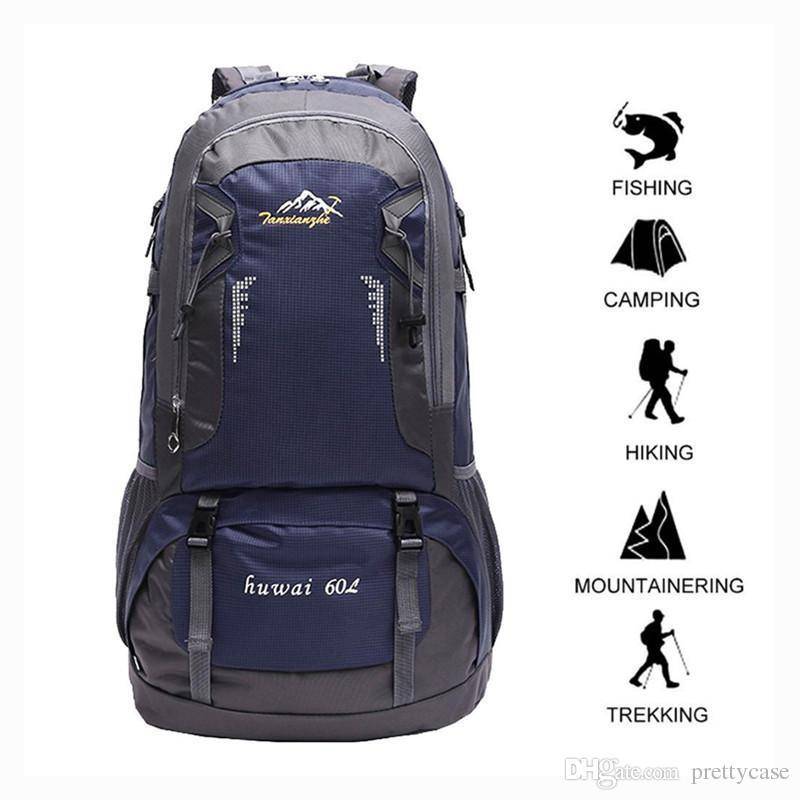 49dca6b3b8 Acquista Zaino Da Trekking Da 60L Zaino Da Trekking Da Arrampicata Impermeabile  Zaino Da Montagna Alpinismo Zaino Grandi Capacità i A $20.37 Dal Prettycase  ...