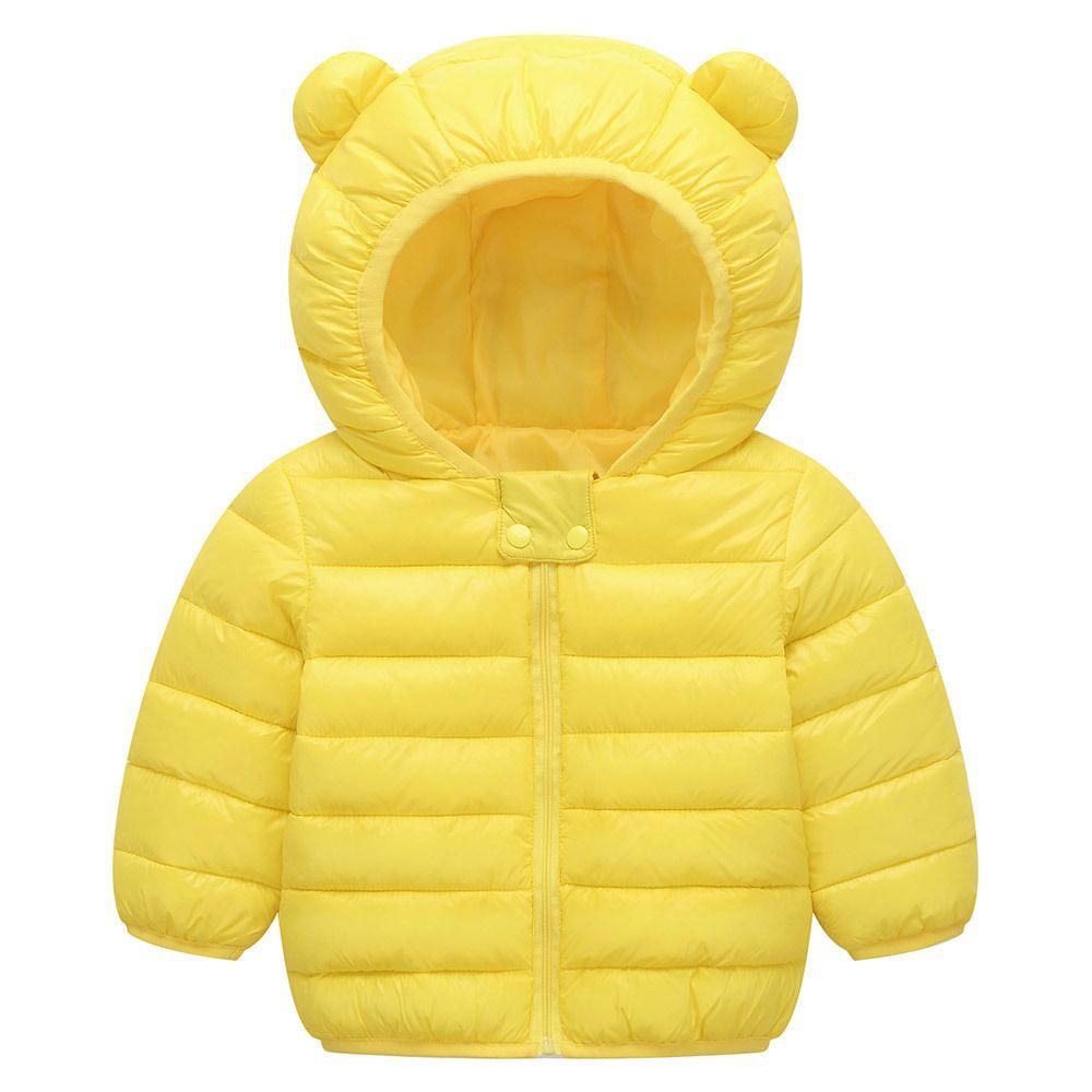 2e7fbf284 Kids fashion coat winter wear Boy Girl Cartoon Hooded warm cotton coat Baby  Winter Coats Down Cotton Coat Jacket