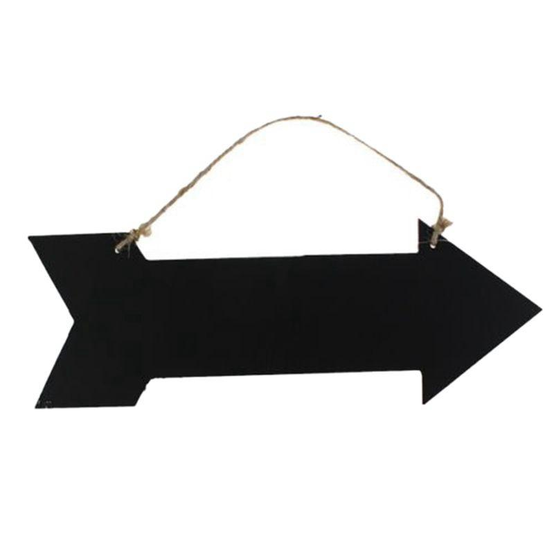 637c3e181 2019 Arrow Hanging Black Chalkboard MESSAGE FUN PLAQUE KITCHEN GIFT HOME  NOTE MEMO From Aurorl, $34.97 | DHgate.Com