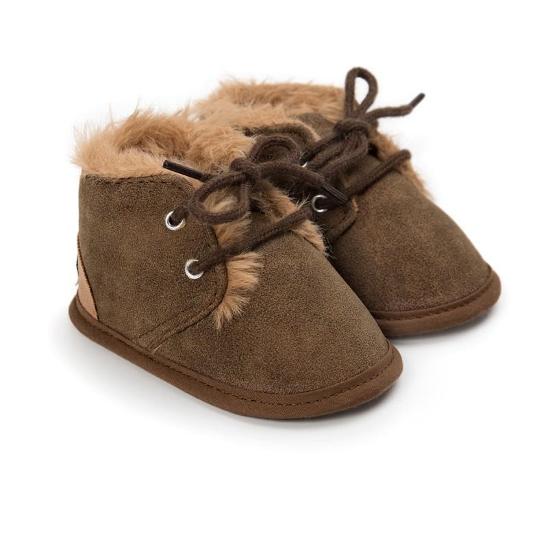 885b25d85 Compre Outono Inverno Quente Botas De Neve Sapatos De Bebê Sólida Laço  Ativo Crianças Sapatos Confortáveis Crianças De Hemane, $38.09 |  Pt.Dhgate.Com