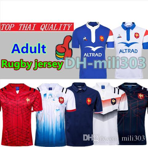 Mejor Calidad 2018 2019 Francia Super Rugby Jerseys Chaleco 17 18 19 Nuevas  Camisas De Francia Rugby Maillot De Foot French BOLN Camiseta De Rugby  Talla S ... 691606c832720